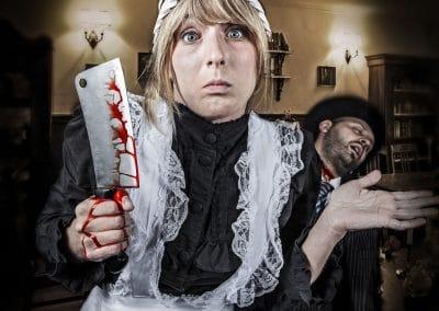 mörderisches Dienstmädchen